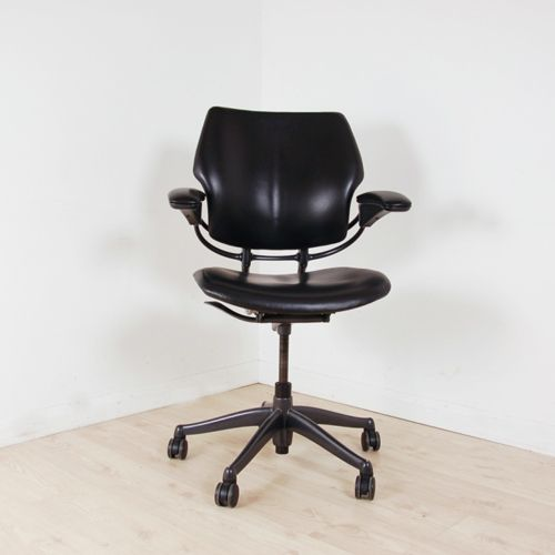 Humanscale Freedom Operator Chair Black Leather